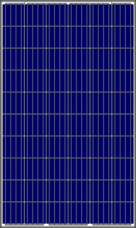 poly Solarmoduk 280 WP